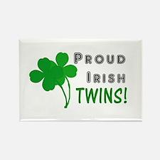 Irish Twins Rectangle Magnet