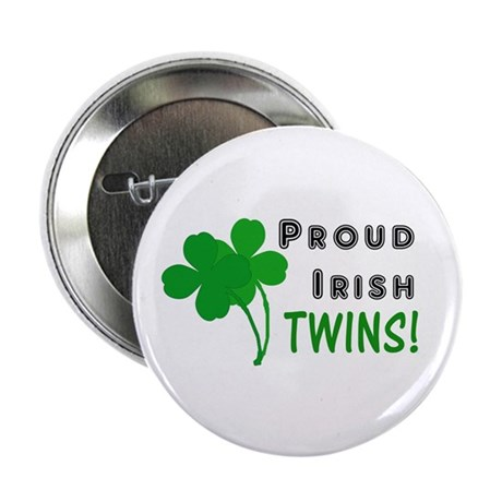 "Irish Twins 2.25"" Button"