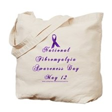 Ntl Fibro Day Tote Bag