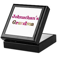 Johnathan's Grandma Keepsake Box