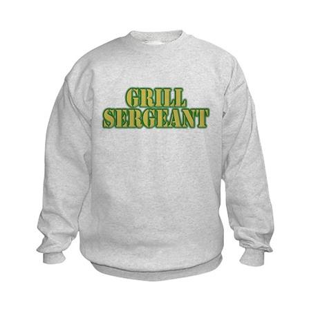 Grill Sergeant Kids Sweatshirt
