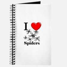 I Love Spiders Journal