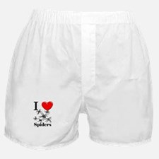 I Love Spiders Boxer Shorts