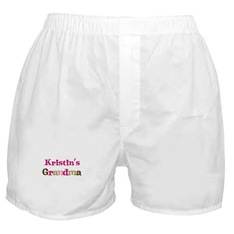 Kristin's Grandma Boxer Shorts