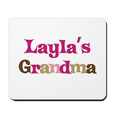 Layla's Grandma Mousepad