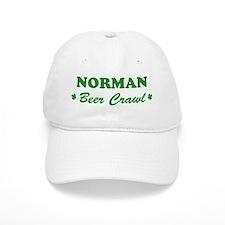 NORMAN beer crawl Baseball Cap