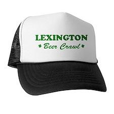 LEXINGTON beer crawl Trucker Hat