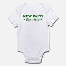 NEW PALTZ beer crawl Infant Bodysuit