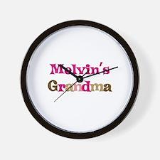 Melvin's Grandma Wall Clock