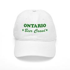 ONTARIO beer crawl Baseball Cap