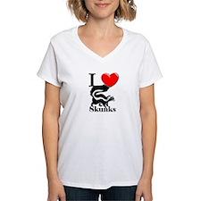 I Love Skunks Shirt