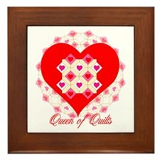 Quilting Queen Framed Tile