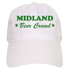 MIDLAND beer crawl Baseball Cap