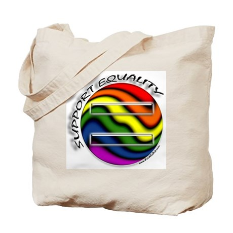 Support Equality Gay Pride Tote Bag