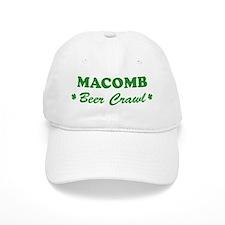 MACOMB beer crawl Baseball Cap