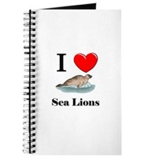 I Love Sea Lions Journal
