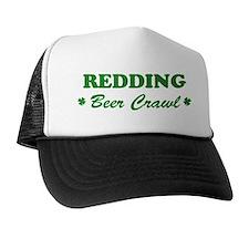 REDDING beer crawl Trucker Hat