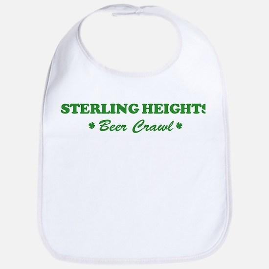 STERLING HEIGHTS beer crawl Bib