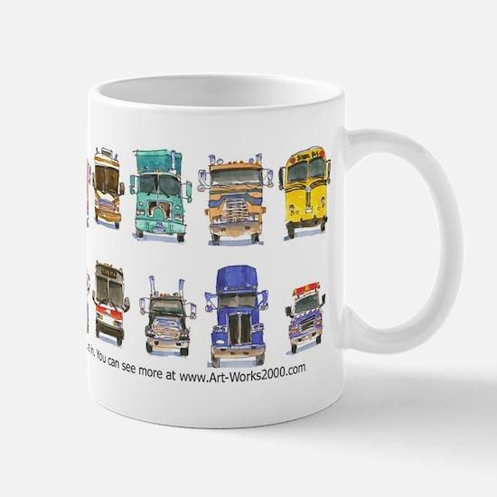 16 Trucks Mug