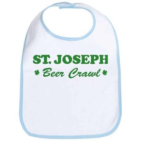 ST JOSEPH beer crawl Bib