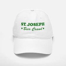 ST JOSEPH beer crawl Baseball Baseball Cap