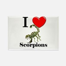 I Love Scorpions Rectangle Magnet