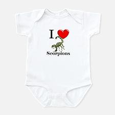 I Love Scorpions Infant Bodysuit