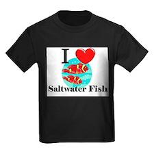 I Love Saltwater Fish T