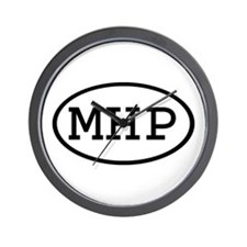 MHP Oval Wall Clock