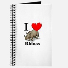 I Love Rhinos Journal