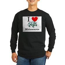 I Love Rhinoceros T