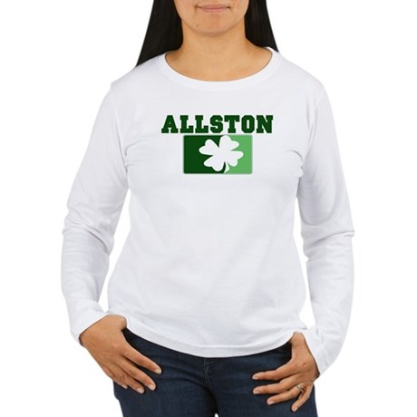 ALLSTON Irish (green) Women's Long Sleeve T-Shirt