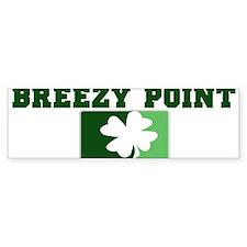 BREEZY POINT Irish (green) Bumper Bumper Sticker