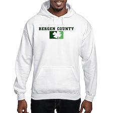 BERGEN COUNTY Irish (green) Hoodie