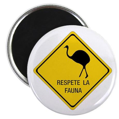 Respect Wildlife, Argentina Magnet
