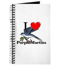 I Love Purple Martins Journal