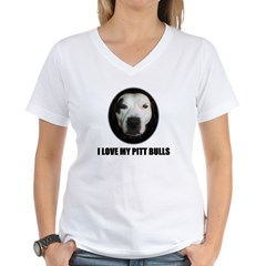 I LOVE MY PITT BULLS Shirt