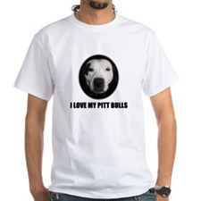 I LOVE MY PITT BULLS Shirt