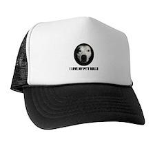 I LOVE MY PITT BULLS Trucker Hat