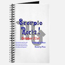 Scorpio October 31st Journal