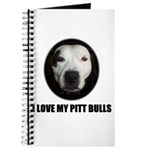 I LOVE MY PITT BULLS Journal
