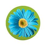 Pop Art Blue Daisy 3.5