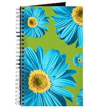 Pop Art Blue Daisy Journal