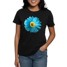 Pop Art Blue Daisy Tee