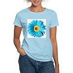 Pop Art Blue Daisy Women's Light T-Shirt