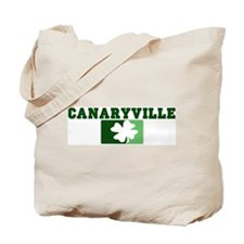 CANARYVILLE Irish (green) Tote Bag