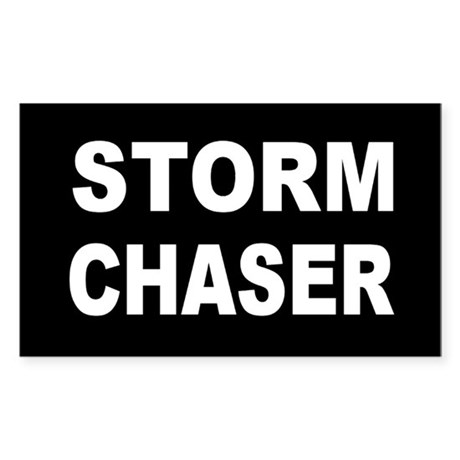 Storm Chaser Rectangle Sticker