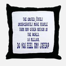 Jail Time Throw Pillow