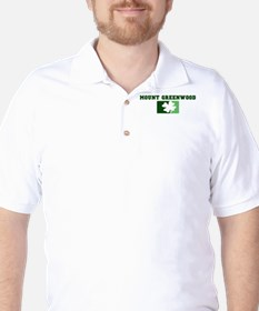 MOUNT GREENWOOD Irish (green) Golf Shirt