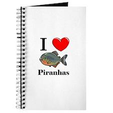 I Love Piranhas Journal